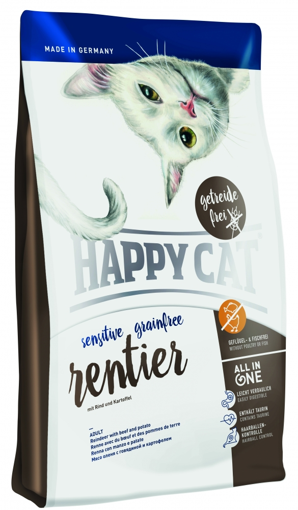 Сухие корма для котят happy cat